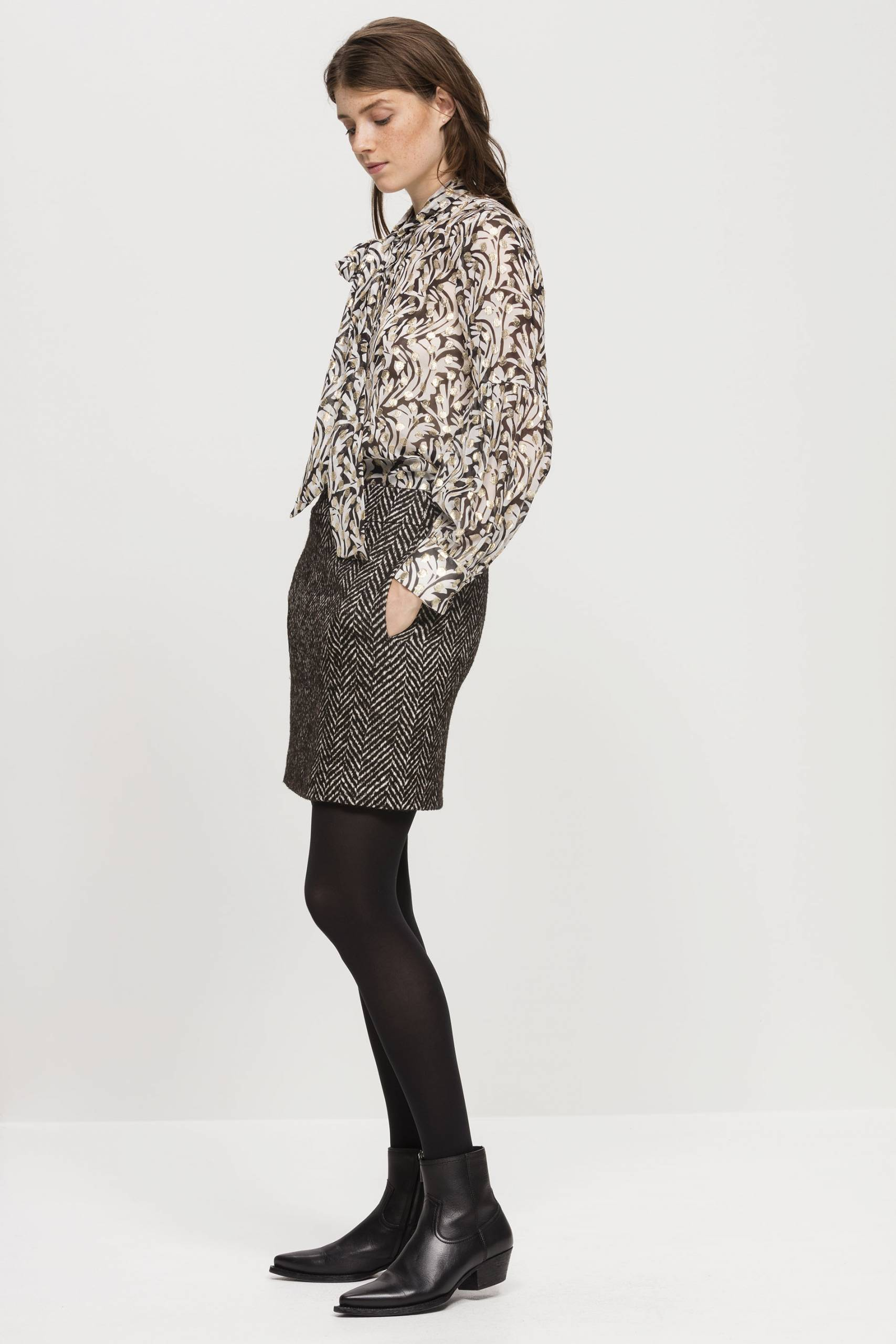 Jane Young Luisa Cerano Skirt and Blouse