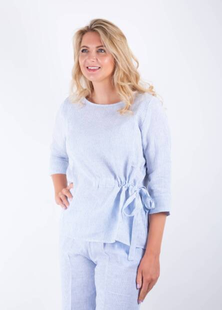 Jane Young Whyci Tie Top