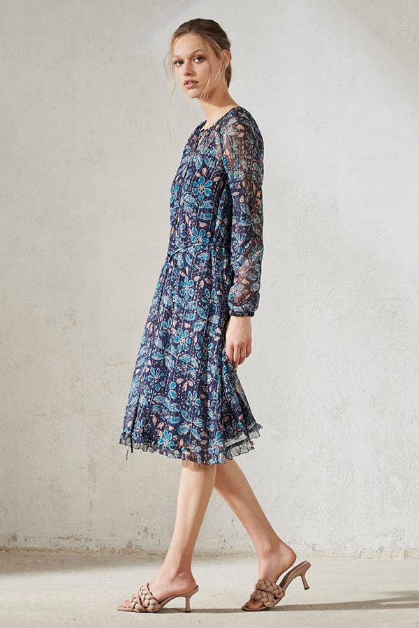 Jane-Young-Wedding-guest-Luisa Cerano floral dress