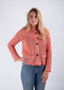 Jane Young Marccain tween red jacket