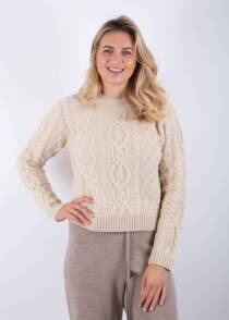 Jane Young max mara weekend cable knit sweater Accordo