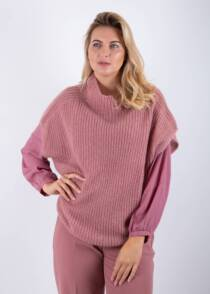 Jane Young Luisa Cerano dusty pink sweater