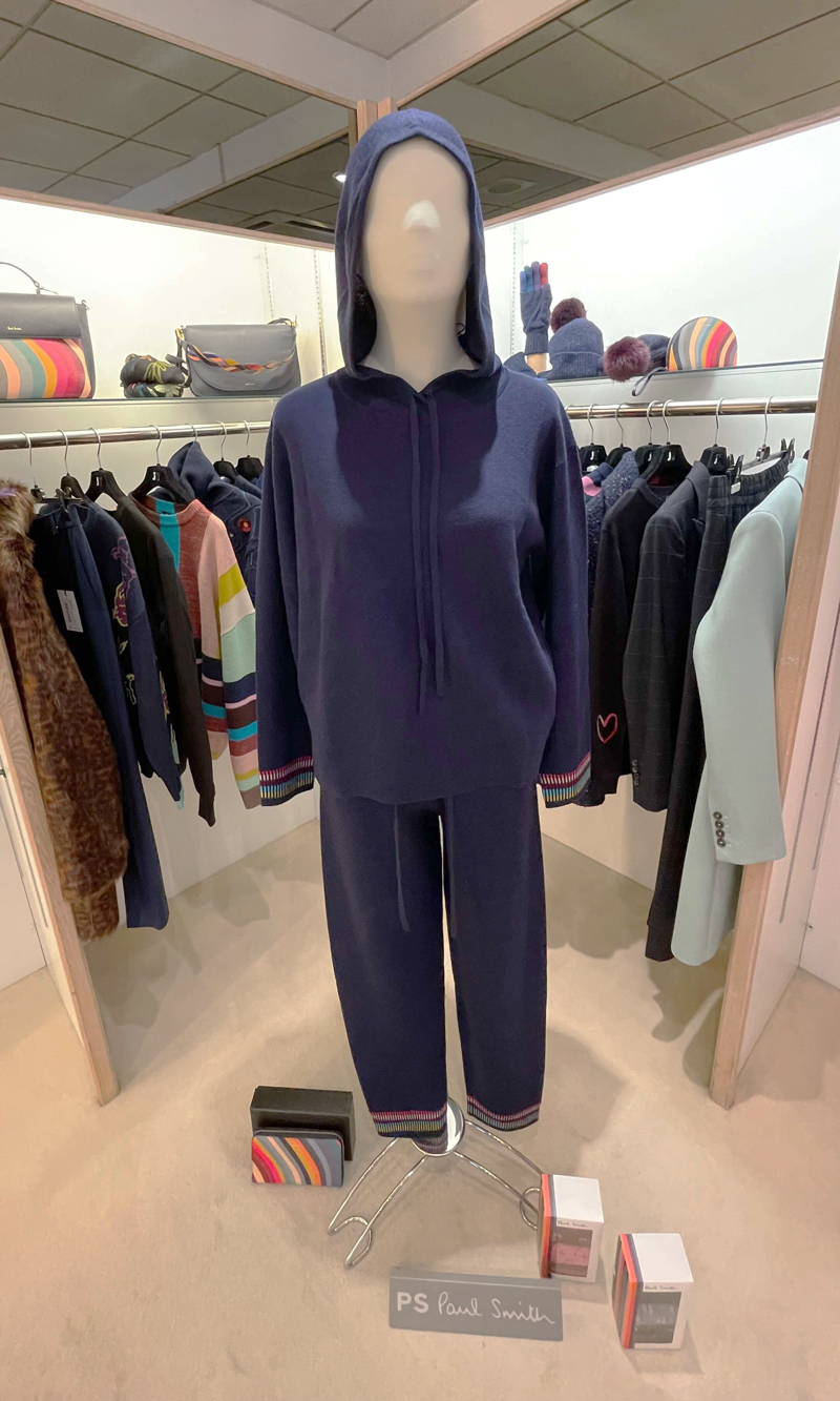 PS Paul Smith at Jane Young lounge wear blue