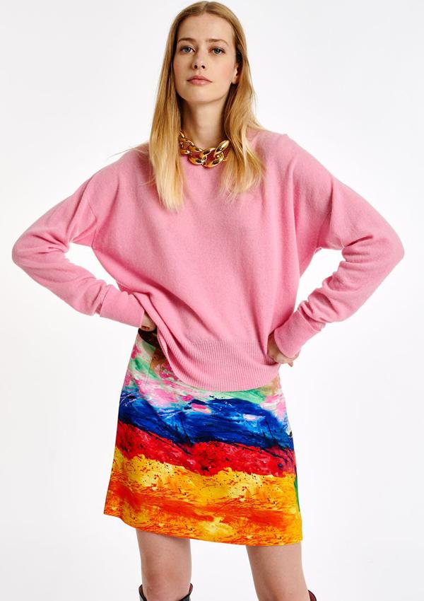 Essentiel Antwerp pink sweater