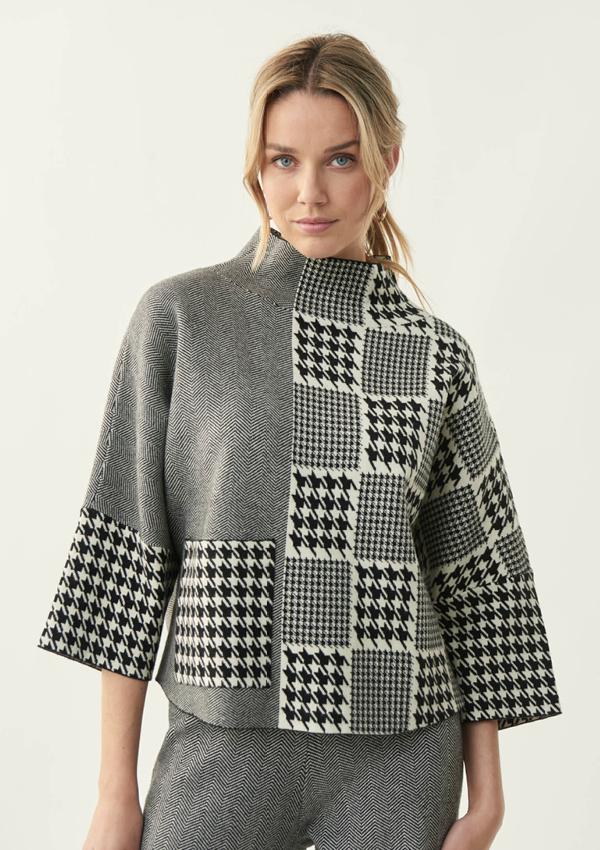 Joseph Ribkoff turtle neck sweater